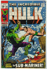 Incredible Hulk #118 VG Front Cover