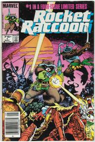 Rocket Raccoon #1 FN Front Cover