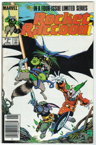 Rocket Raccoon #2 FN Front Cover