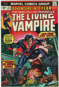 Adventure Into Fear with Morbius #23 FN