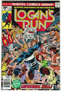 Logans Run #2 FN Front Cover