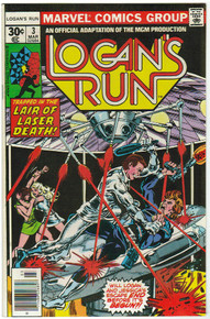 Logans Run #3 FN Front Cover