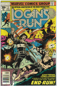 Logans Run #5 VF Front Cover