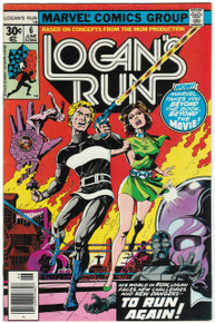 Logan's Run #6 VF 1st Thanos Solo Story!