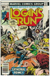 Logans Run #7 VF/NM Front Cover