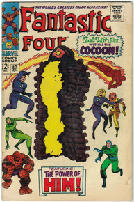 Fantastic Four #67 VG Front Cover