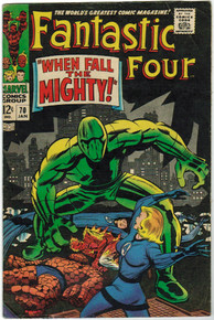 Fantastic Four #70 FN Front Cover