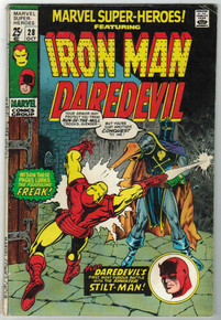 Marvel Super Heroes #28 FN Front Cover