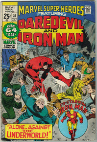 Marvel Super Heroes #31 FN Front Cover