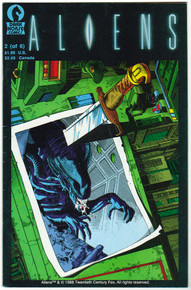 Aliens #2 FN Front Cover
