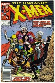 Uncanny X-Men #219 VF Front Cover
