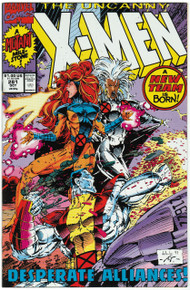 Uncanny X-Men #281 NM Front Cover