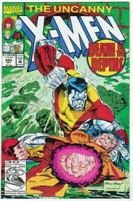 Uncanny X-Men #293 VF Front Cover