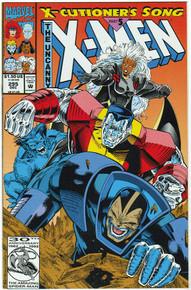 Uncanny X-Men #295 VF Front Cover