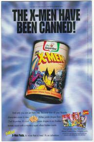 Uncanny X-Men #322 VF Back Cover