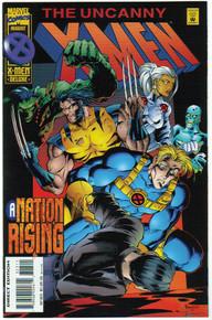 Uncanny X-Men #323 VF/NM Front Cover