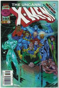 Uncanny X-Men #337 VF/NM Front Cover