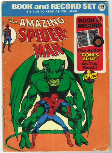 Amazing Spider Man Book and Record Set PR24 GD Front Cover