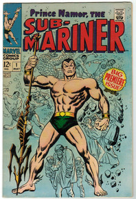 Sub-Mariner #1 FN Front Cover