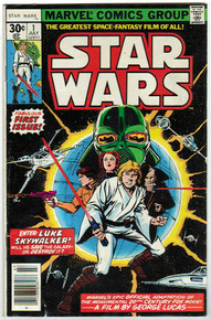 Star Wars #1 FN Front Cover