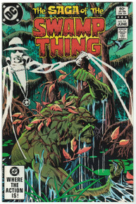 Swamp Thing #14 VF/NM Front Cover