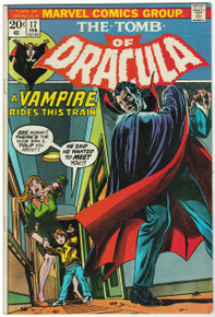 Tomb of Dracula #17 FN Front Cover