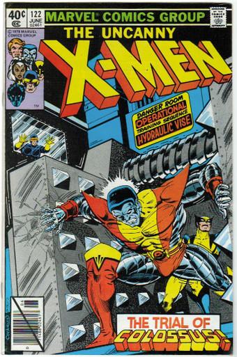 Uncanny X-Men #122 VF/NM Front Cover