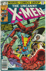 Uncanny X-Men #129 VG Front Cover