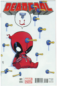 Deadpool Vol. 4 #1 NM Front Cover