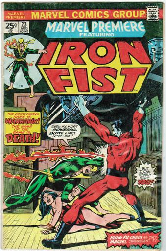 Marvel Premier #23 GD Front Cover