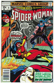 Spider Woman #4 VF/NM Front Cover