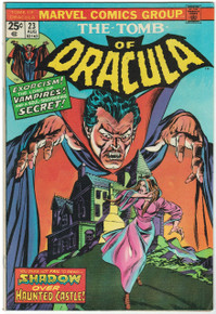 Tomb of Dracula #23 FN Front Cover