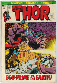 Thor #202 VG Front Cover