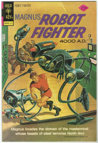 Magnus Robot Fighter #37 VF/NM Front Cover