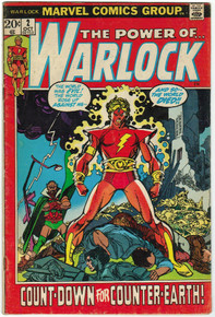 Warlock #2 VG Front Cover