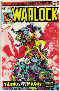 Warlock #10 FN Front Cover