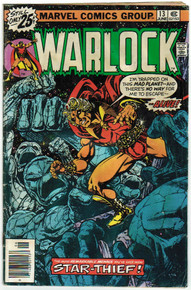 Warlock #13 GD Front Cover
