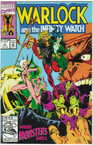 Warlock & the Infinity Watch #7 VF/NM Front Cover