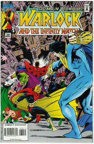 Warlock and the Infinity Watch #38 VF/NM Front Cover