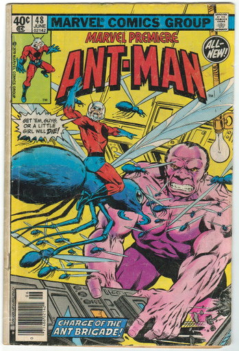 Marvel Premiere #48 GD Front Cover