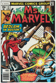 Ms. Marvel #13 VF/NM Front Cover