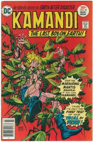 Kamandi, The Last Boy on Earth #49 Very Fine/Near Mint