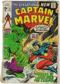 Captain Marvel #21 PR Front Cover