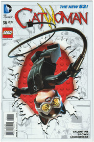 Catwoman #36 NM Lego Variant Front Cover