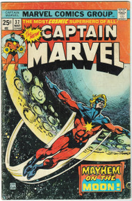 Captain Marvel #37 VG Front Cover