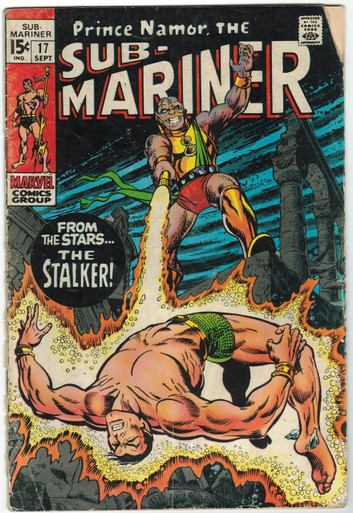 Sub Mariner #17 GD Front Cover