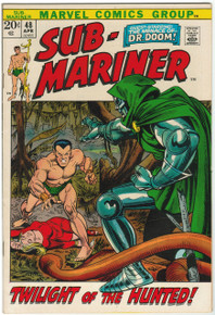 Sub Mariner #48 VF/NM Front Cover