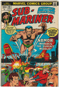 Sub Mariner #60 FN Front Cover