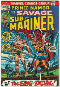 Sub Mariner #65 VG Front Cover