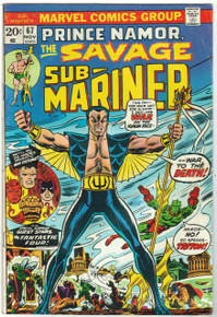 Sub Mariner #67 VG Front Cover